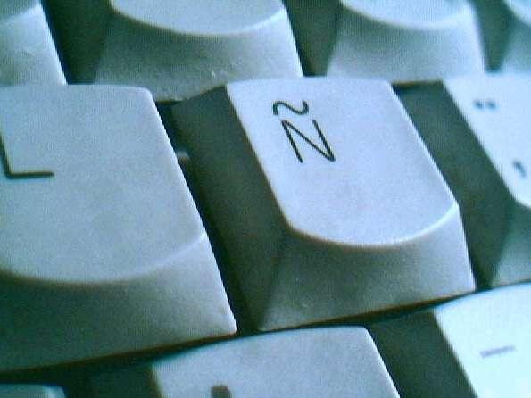 teclado eñe